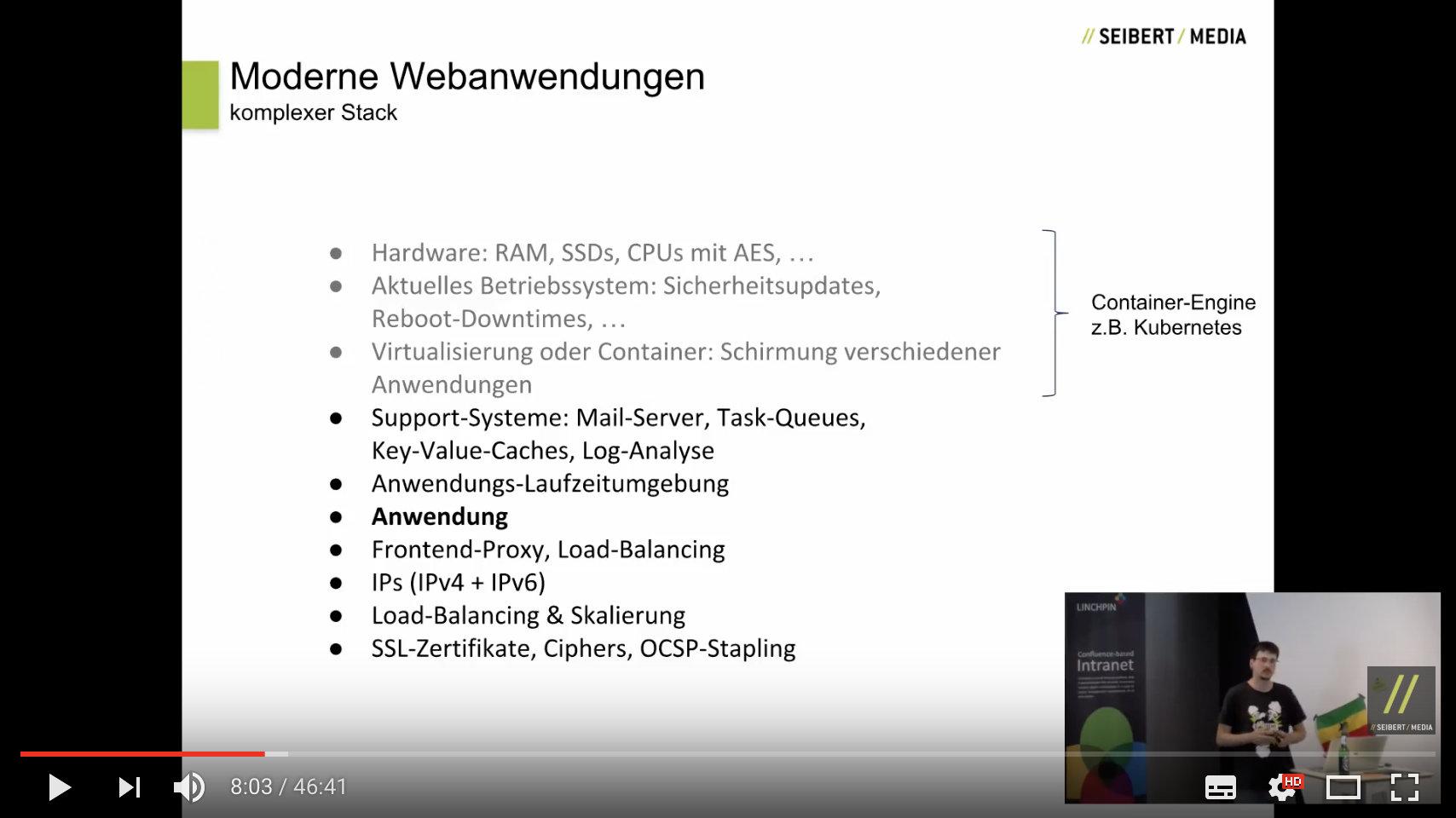 """Eine Folie des Vortrags """"Google AppEngine – Der ideale Stack für moderne Webanwendungen"""""""