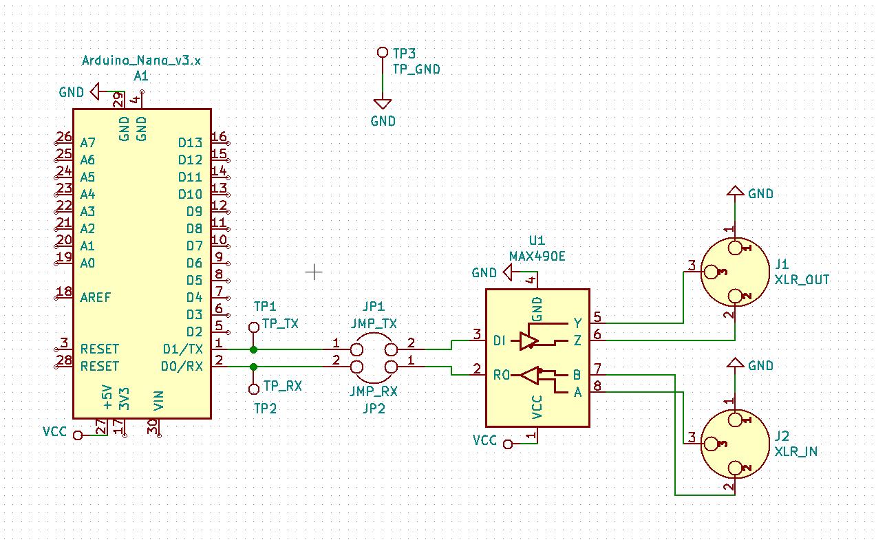 Screenshot of the Schematic